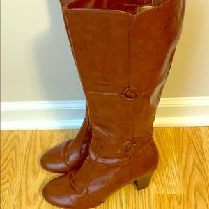 """Life Stride """" Ultra"""" Tall Brown Boot"""